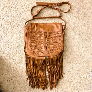 BCBGENERATION Fringe Crossbody